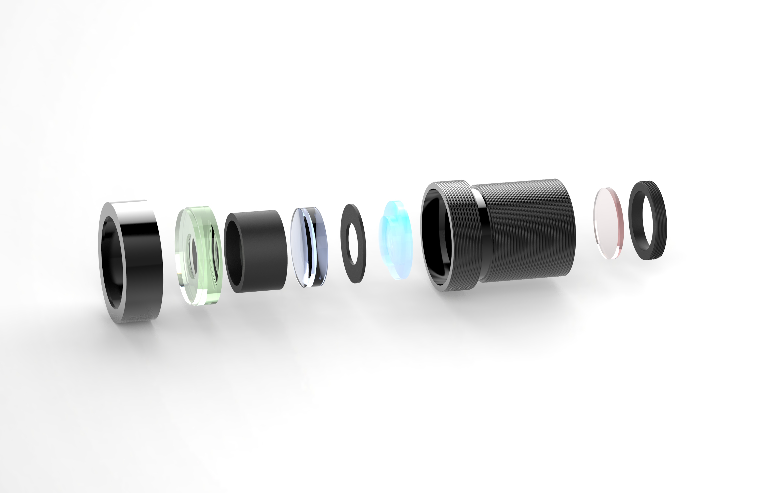 small objective lenses
